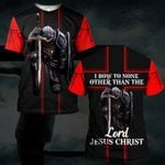 Hihi Store hoodie S / T Shirt I bow a none other than lord Jesus Christ 082901