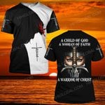 Hihi Store hoodie S / T Shirt Jesus God  a warrior of Christ  ALL OVER PRINTED SHIRTS