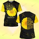 Hihi Store hoodie S / T Shirt Faith Hope Love Childhood Cancer Awareness 081903