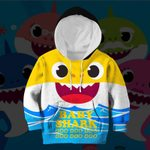 Hihi Store hoodie Toddler 2T / Hoodie Baby Shark All Over Printed Shirts