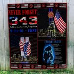 Hihi Store hoodie Us Firefighter 0911 Never Forget Quilt 080401