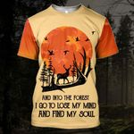 Hihi Store hoodie S / T Shirt And into the forest I go to lose my mind and find my soul All Over Printed Shirts 080703