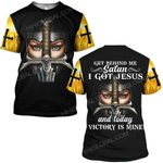 Hihi Store hoodie S / T Shirt God Jesus I got Jesus and today victory is mine  ALL OVER PRINTED SHIRTS