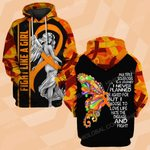 Hihi Store hoodie S / Hoodie MS awareness fight like girl angel ALL OVER PRINTED SHIRTS DH3