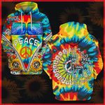 Hihi Store hoodie S / Hoodie Hippie All Over Printed Shirts 040701