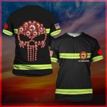 Hihi Store hoodie S / T Shirt US Firefighter All Over Printed Shirts 032503