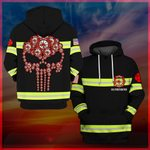 Hihi Store hoodie S / Hoodie US Firefighter All Over Printed Shirts 032503