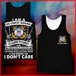 Hihi Store hoodie XXS / Tank Top US Coast Guard All Over Printed Shirts 040307