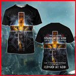 Hihi Store hoodie S / T Shirt I would rather stand with God All Over Printed Shirts 032203