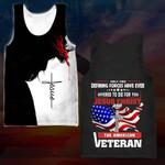 Hihi Store hoodie XXS / Tank Top US Veteran All Over Printed Shirts 032901