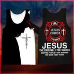 Hihi Store hoodie XXS / Tank Top US Firefighter  All Over Printed Shirts 040101