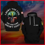 Hihi Store hoodie S / Hoodie United States Army Special Forces All Over Printed Shirts 041608