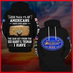 Hihi Store hoodie S / Hoodie US Navy USS Harry S. Truman (CVN 75)All Over Printed Shirts 052205