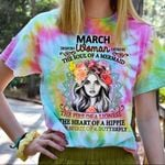 Hihi Store hoodie S / T Shirt Hippie March Woman The soul of a Mermaid All Over Printed Shirts 061703