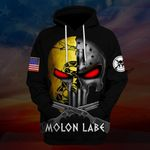 Hihi Store hoodie S / Hoodie Molon Labe Spartan Warrior ALL OVER PRINTED SHIRTS 111902