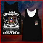 Hihi Store hoodie XXS / Tank Top Us Navy All Over Printed Shirts 040501