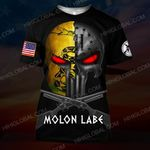 Hihi Store hoodie S / T Shirt Molon Labe Spartan Warrior ALL OVER PRINTED SHIRTS 111902