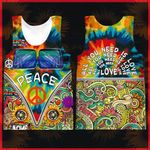 Hihi Store hoodie XXS / Tank Top Hippie All Over Printed Shirts 040702