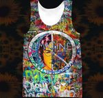 Hihi Store hoodie XXS / Tank Top Hippie All Over Printed Shirts 040404