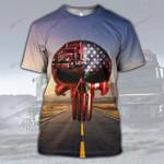 Hihi Store hoodie XS / T Shirt Trucker  All Over Printed Shirts 031602