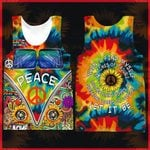 Hihi Store hoodie XXS / Tank Top Hippie All Over Printed Shirts 040707