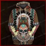 The Veterans Store hoodie S / Hoodie Indian Native American  ALL OVER PRINTED SHIRTS 121301