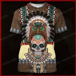 The Veterans Store hoodie S / T Shirt Indian Native American  ALL OVER PRINTED SHIRTS 121301