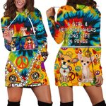 Hihi Store hoodie XS / Dress A Girl and her Chihuahuas  All Over Printed Shirts 041002