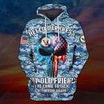 Hihi Store hoodie S / Hoodie US Navy All Over Printed Shirts 032201