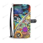 wc-fulfillment Wallet Case iPhone X / Xs Hippie Wallet Case