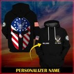 Hihi Store hoodie S / Hoodie US Navy Personalized Name  ALL OVER PRINTED SHIRTS 99