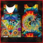 Hihi Store hoodie XXS / Tank Top Hippie All Over Printed Shirts 040705