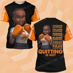 MS awareness quitting is not MS ALL OVER PRINTED SHIRTS DH10