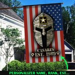 US Army Flag Personalized  ALL OVER PRINTED SHIRTS 121608