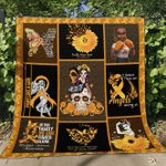 MS awareness  ALL OVER PRINTED blanket DH15
