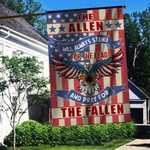The Allen US Flag ALL OVER PRINTED SHIRTS 122401