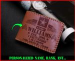 Personalized Wallet for Us Army 010202