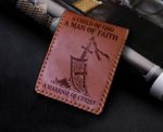 God Jesus a child of God a man of faith a warrior of Christ Wallet 010303