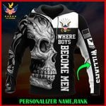 US Navy Personalized Name  ALL OVER PRINTED SHIRTS 122607