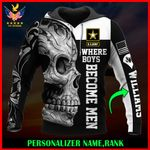 US Army Personalized Name  ALL OVER PRINTED SHIRTS 122602