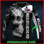 Harlingen Texas Texan Personalized Name  ALL OVER PRINTED SHIRTS 010604