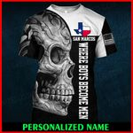 San Marcos Texas Texan Personalized Name  ALL OVER PRINTED SHIRTS 010605