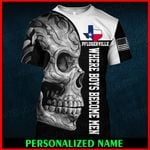 Pflugerville Texas Texan Personalized Name  ALL OVER PRINTED SHIRTS 010605