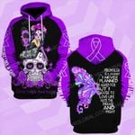 Fibromyalgia awareness is a journey butterfly ALL OVER PRINTED SHIRTS DH010902