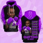 Lupus awareness quitting is not strong girl ALL OVER PRINTED SHIRTS DH0110