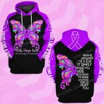 Fibromyalgia awareness never be ashamed of a scar ALL OVER PRINTED SHIRTS DH0210