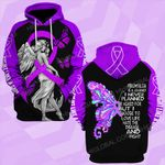 Fibromyalgia is a journey i never planned angel  ALL OVER PRINTED SHIRTS DH0217
