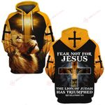 Fear not for Jesus The lion of Judah has Triumphed ALL OVER PRINTED SHIRTS DH022602