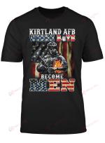 kirtland AFB Where boys become men