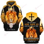 Jesus God For the spirit God gave us does not make us timid but gives us power love and self-discipline ALL OVER PRINTED SHIRTS 022801
